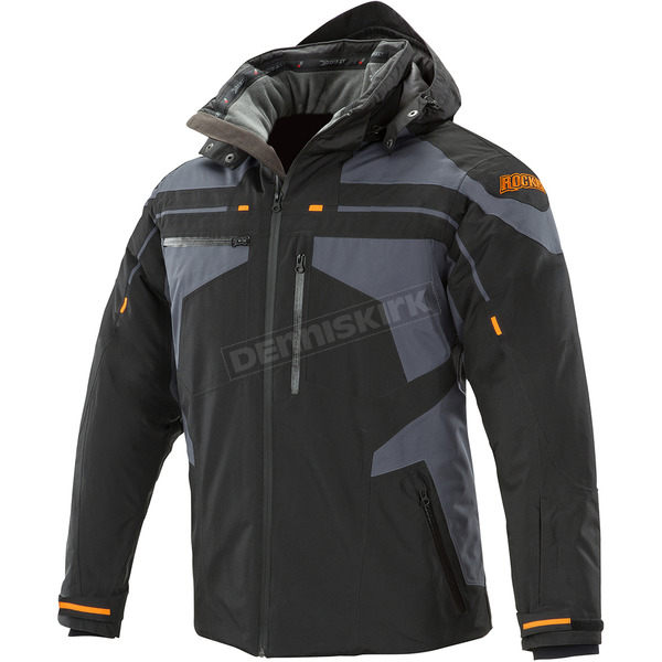 Joe Rocket Black/Grey Cold Weather Rocket Crew Jacket - 1530-5502