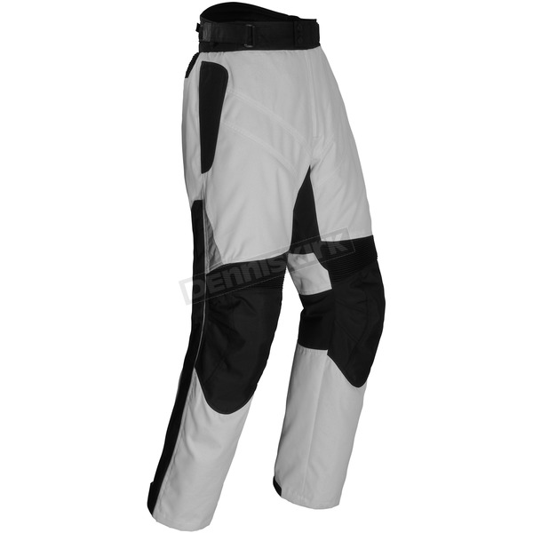 Tour Master Womens Silver/Black Venture Pants - 86-445