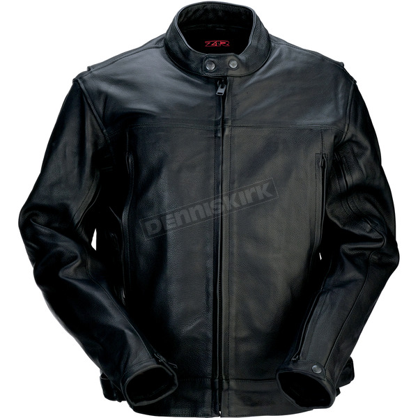 Z1R Black 357 Leather Jacket - 2810-2777