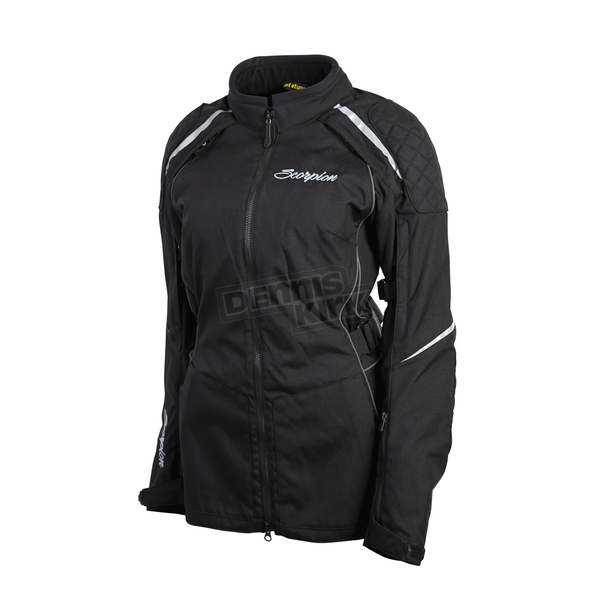 Scorpion Womens Black Zion Jacket - 51303-3