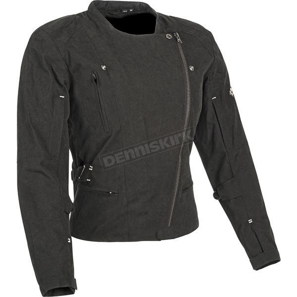Speed and Strength Womens Black Tough Love Textile Jacket - 87-8873