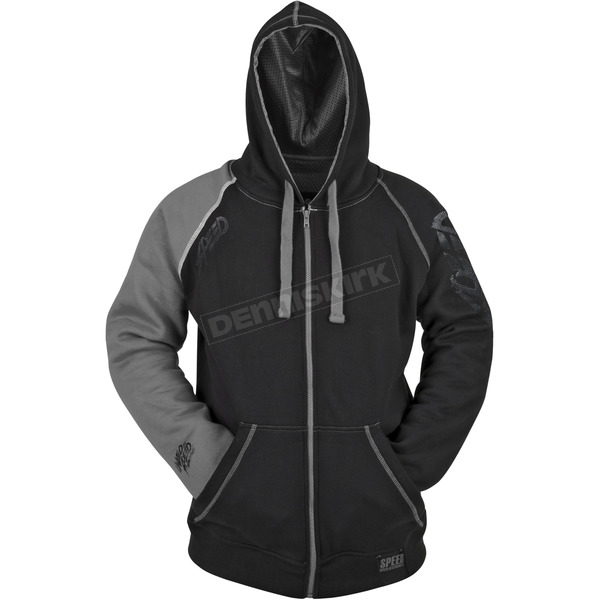 Speed and Strength Grey/Black United By Speed Armored Hoody - 87-8912