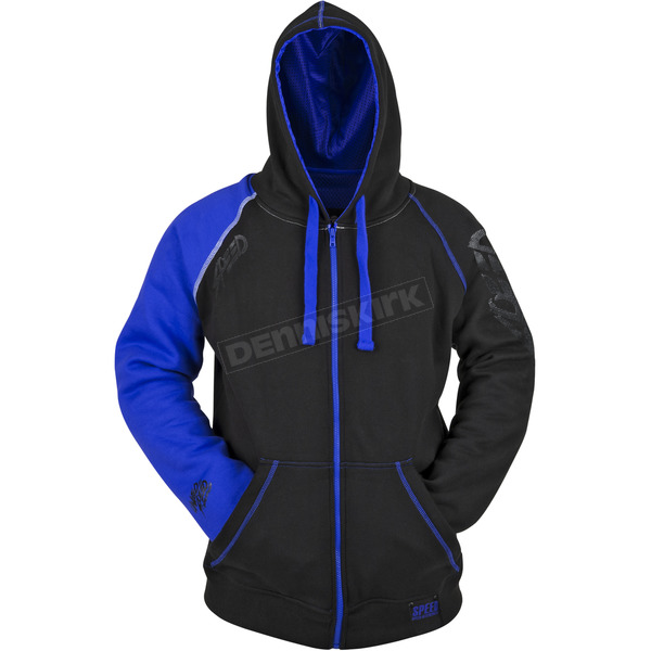 Speed and Strength Blue/Black United By Speed Armored Hoody - 87-8926