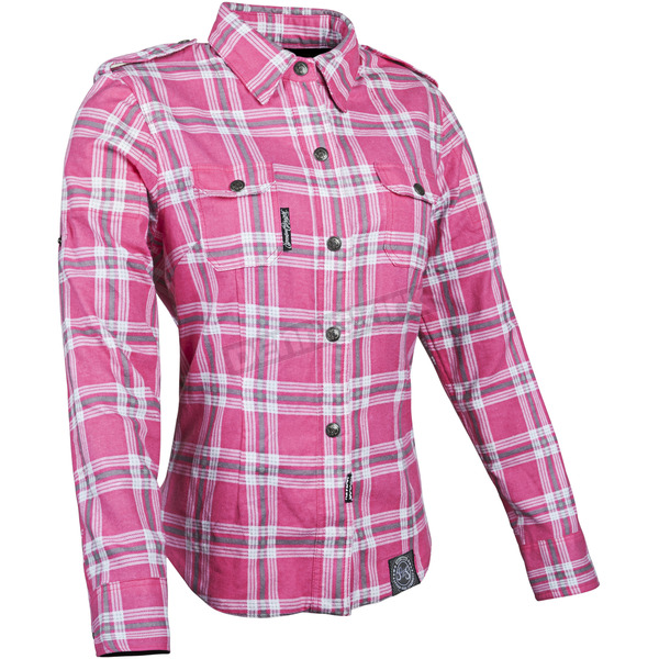 Speed and Strength Womens Pink Smokin Aces Moto Shirt - 87-8957