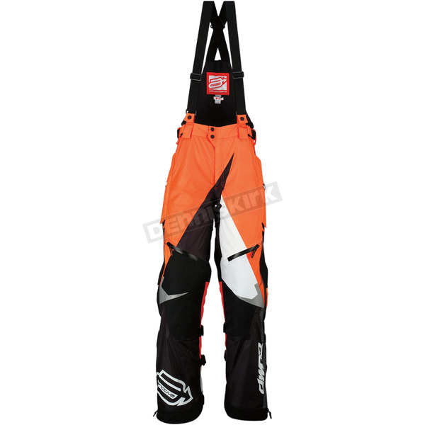 Arctiva Black/Orange Comp RR Bibs - 3130-1012