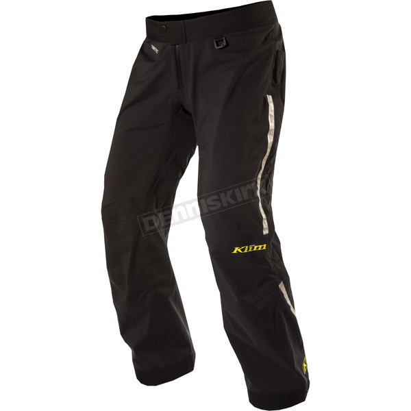 Klim Black Gore-Tex Overshell Pants - 5058-000-030-000