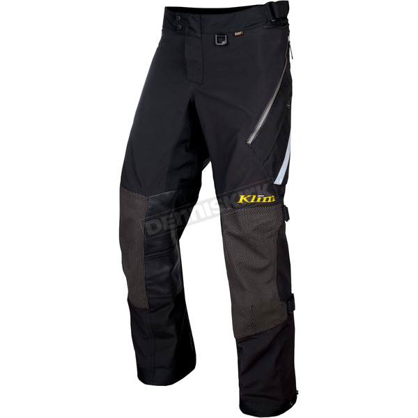 Klim Black Badlands Pants - Tall - 4053-001-240-000