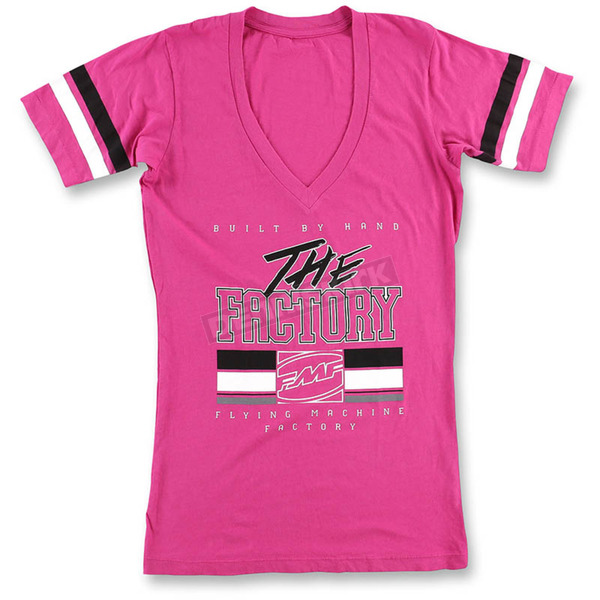 FMF Women's Pink Factory Girl T-Shirt - SP6418903PNKS