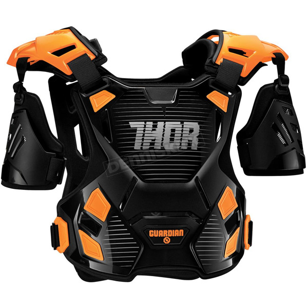 Thor Youth Black/Orange Guardian Roost Deflector - 2701-0804