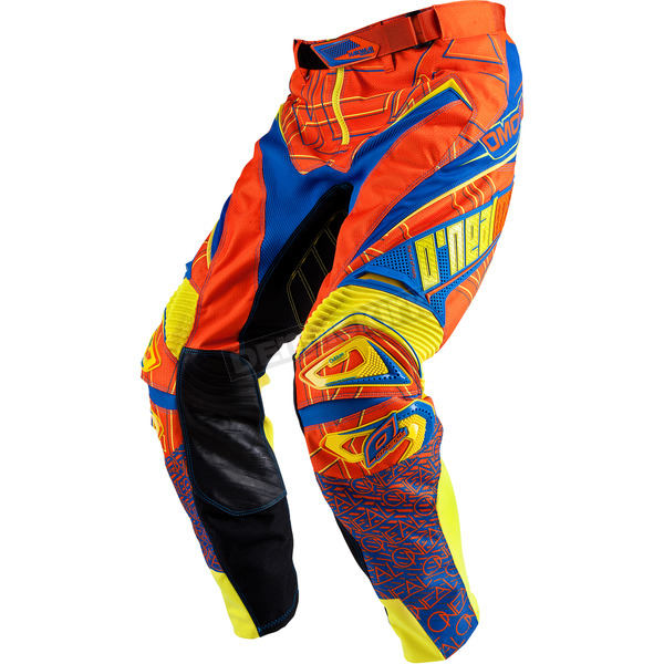 O'Neal Orange/Blue Hardwear Mixxer Pants - 0153