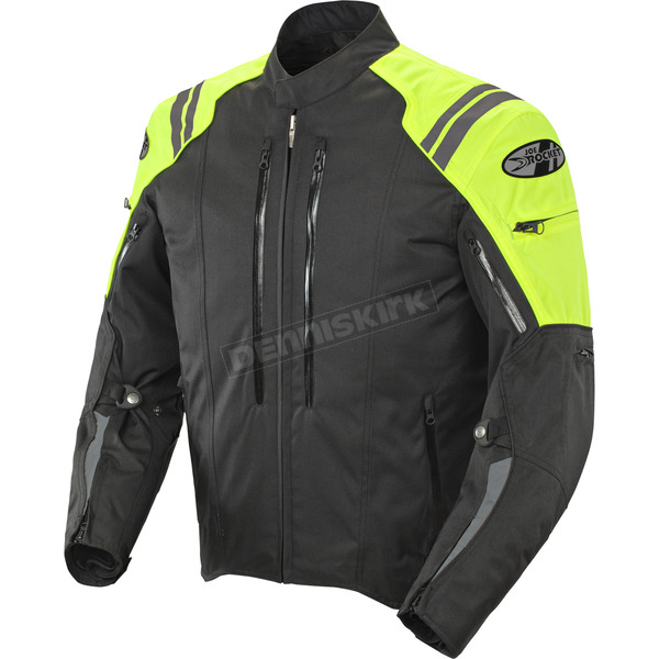 Joe Rocket Black/Neon Atomic 4.0 Jacket  - 1051-5603