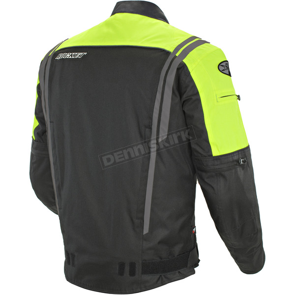 Joe Rocket Black/Neon Atomic 4.0 Jacket  - 1051-5604