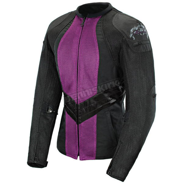 Joe Rocket Womens Purple/Black Alter Ego 3.0 Jacket - 1061-6804