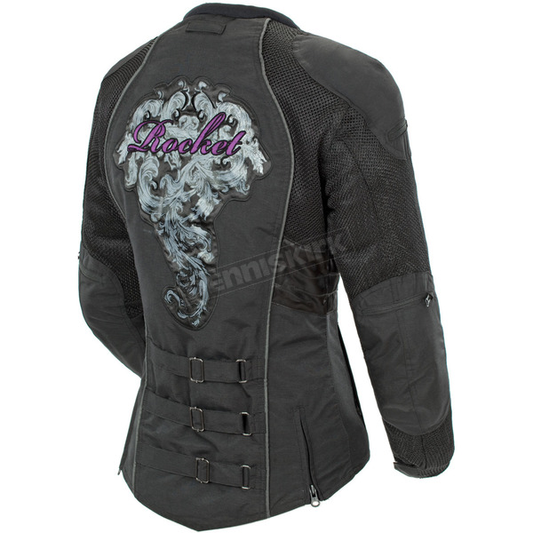 Joe Rocket Womens Purple/Black Alter Ego 3.0 Jacket - 1061-6805