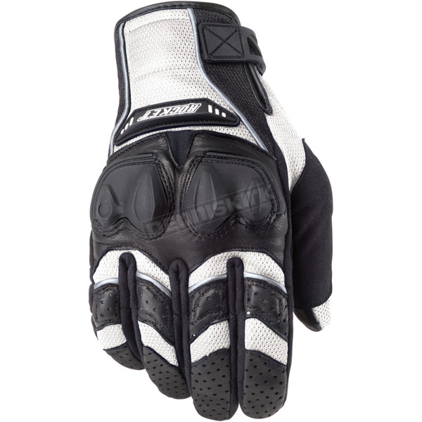 Joe Rocket White/Black Phoenix 4.0 Black Gloves - 1056-1706