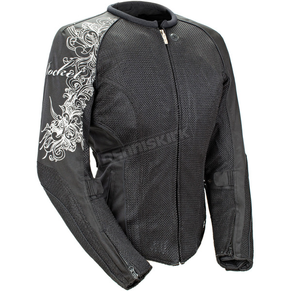 Joe Rocket Womens Black Cleo 2.2 Jacket - 1250-0007