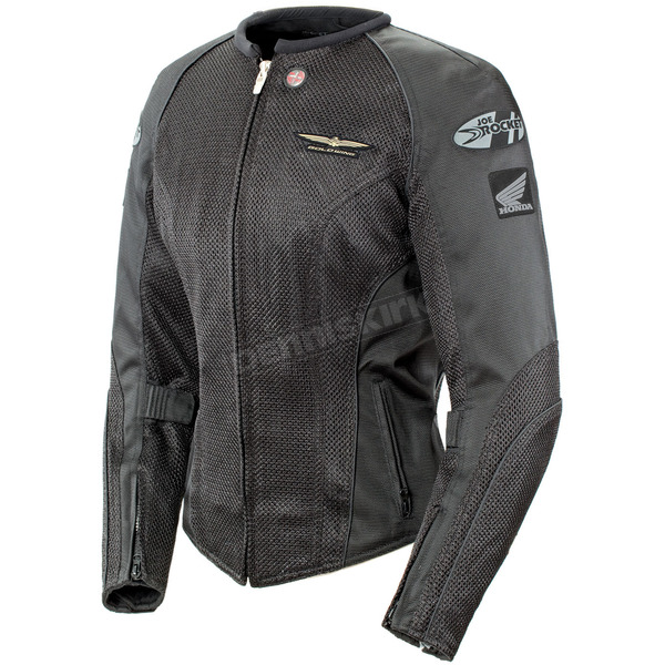 Joe Rocket Womens Black Skyline 2.0 Jacket - 1280-1007