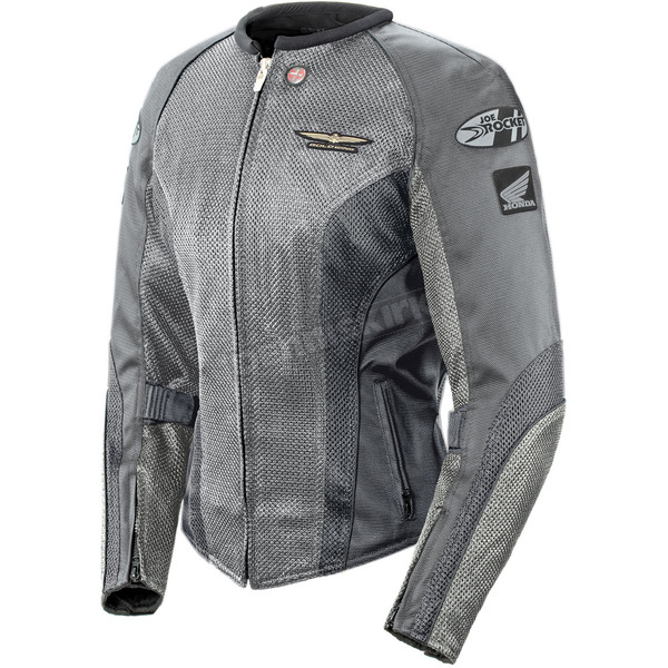 Joe Rocket Womens Silver/Grey Skyline 2.0 Jacket - 1280-1605