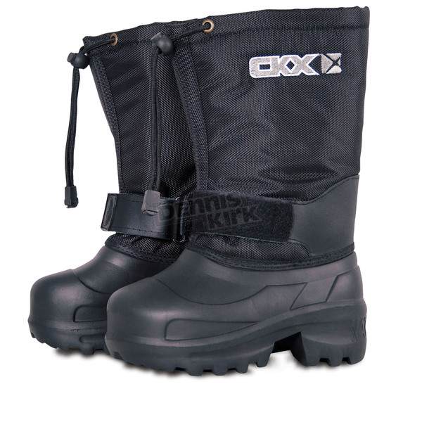 CKX Black 12 in. Ultra Lightweight Taiga Boots - 032639