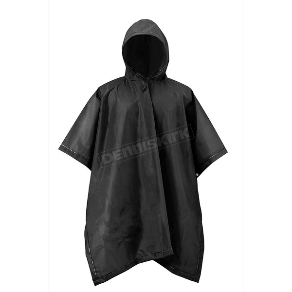 Mossi Black Emergency Travel Poncho - 51-111