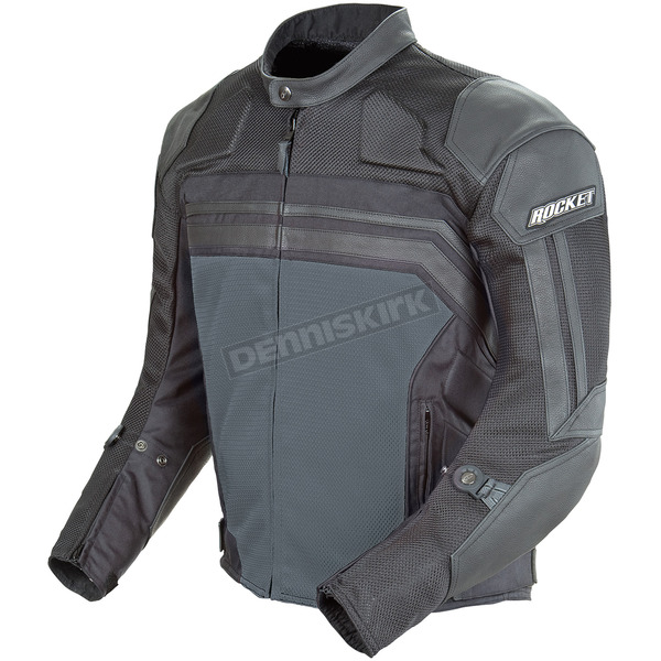 Joe Rocket Black/Gunmetal Reactor 3.0 Jacket - 1322-3604