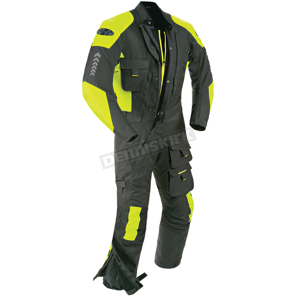 Joe Rocket Black/Hi-Viz Survivor Suit - 1370-4604