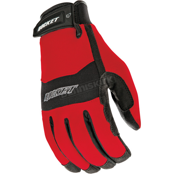 Joe Rocket Red/Black RX14 Crew Touch Gloves - 1336-1102