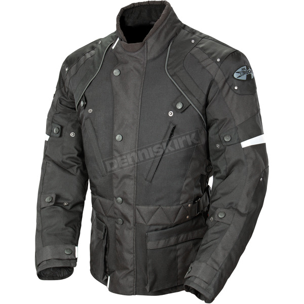 Joe Rocket Black Ballistic Revolution Jacket - 1352-1006