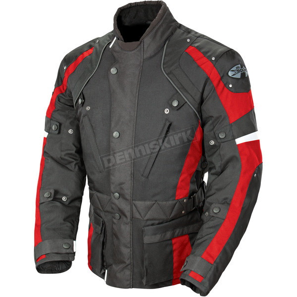 Joe Rocket Black/Red Ballistic Revolution Jacket - 1352-2103