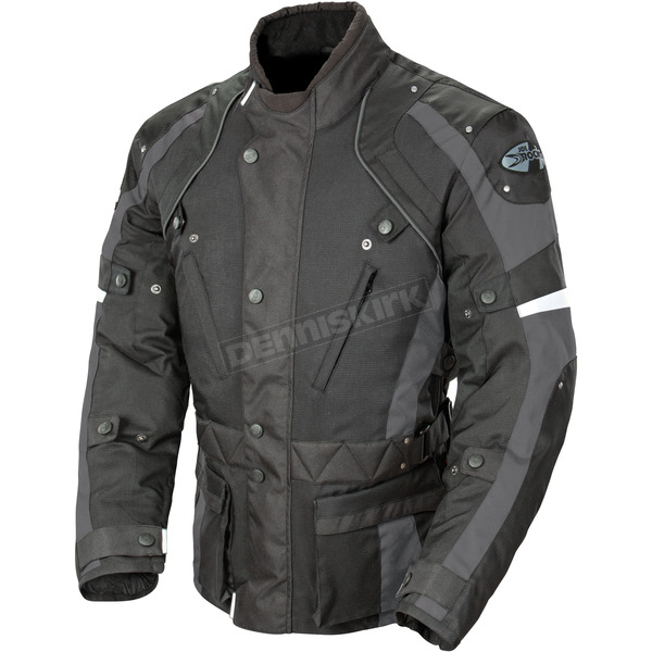 Joe Rocket Black/Gray Ballistic Revolution Jacket - 1352-2606