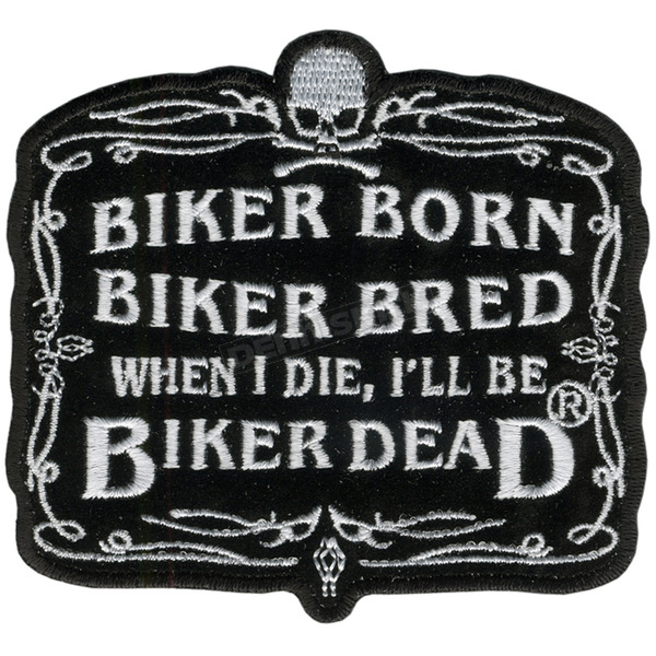Hot Leathers Biker Born Patch - PPA2072