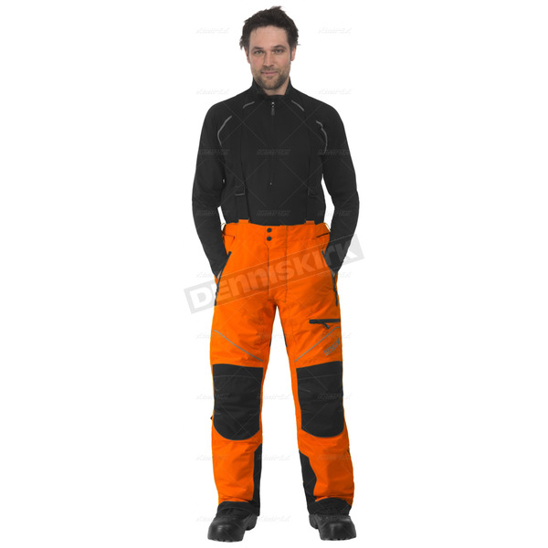 CKX Orange/Black Climb Snowmobile Pants  - 601216