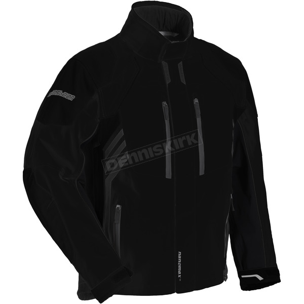 Fieldsheer Black Pinnacle Snowmobile Jacket - 6402-1405-07