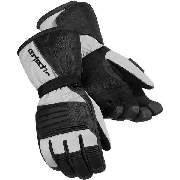 Cortech Black/Silver Journey 2.1 Snow Gloves - 8933-1407-06