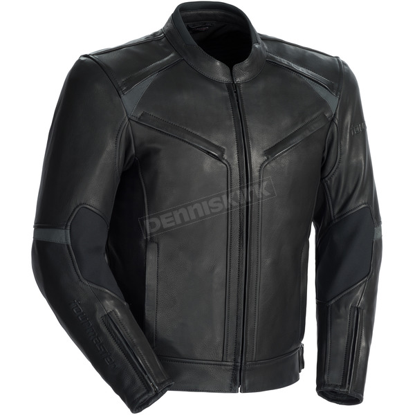 Tour Master Black Element Cooling Leather Jacket - 8723-0105-06