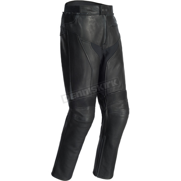 Tour Master Black Element Cooling Leather Pants - 8724-0105-07