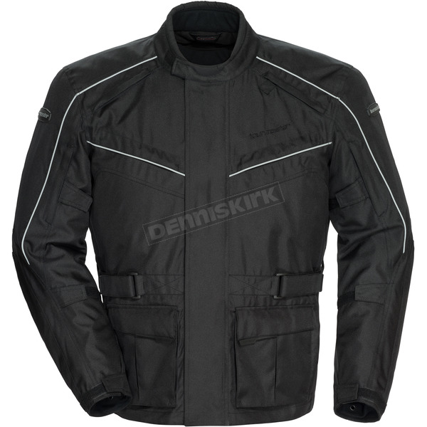Tour Master Black Saber 4.0 Textile 3/4 Jacket - 8774-0405-05