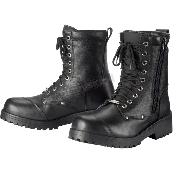 Tour Master Black Coaster Waterproof Boots - 8526-5005-40