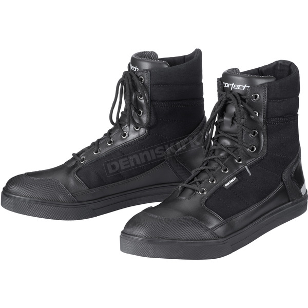 Cortech Black Vice Waterproof Riding Shoes - 8514-6535-46
