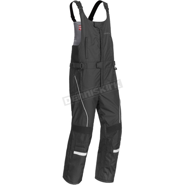 Cortech Womens Black Cascade 2.1 Snowmobile Bibs - 8942-1405-77