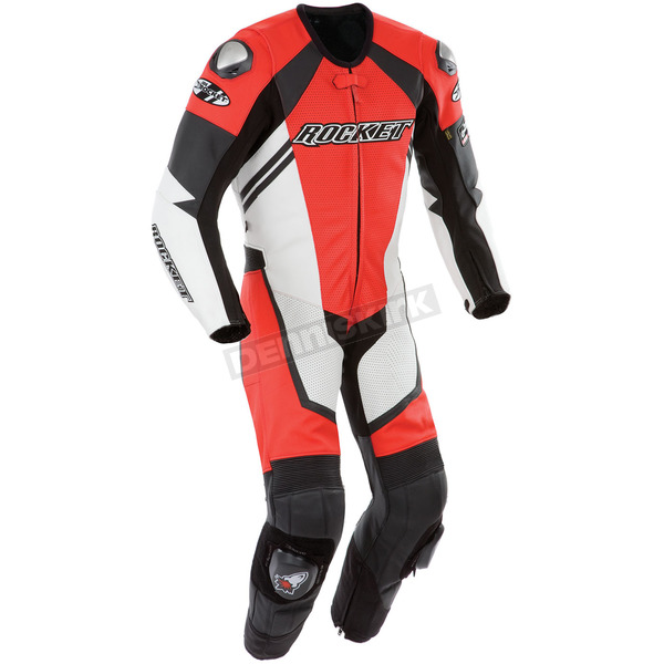 Joe Rocket Red/White/Black Speedmaster One-Piece Suit - 1050-0140