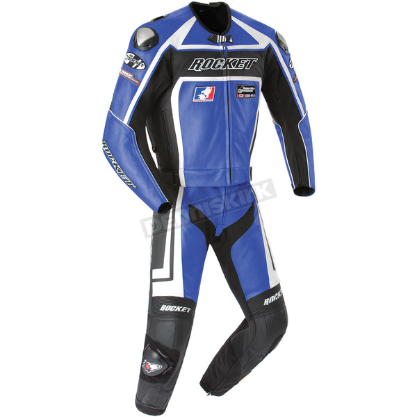 Joe Rocket Blue/Black Speedmaster Two-Piece Suit - 1052-0248