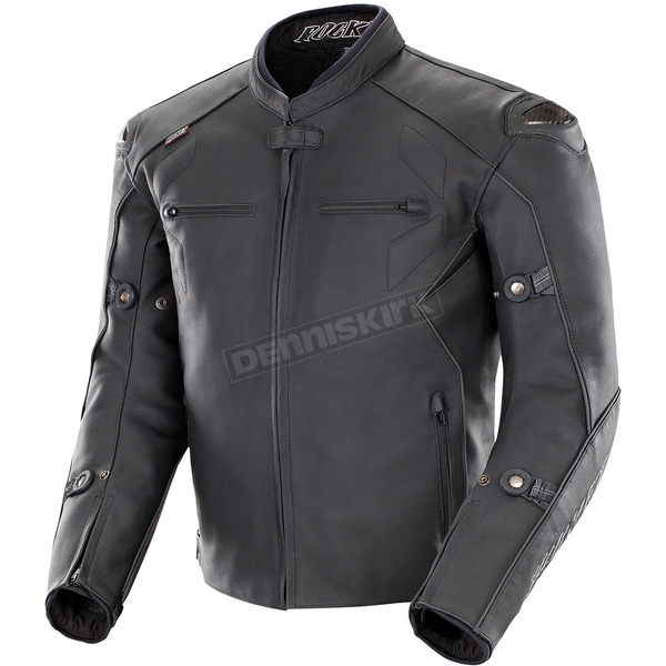 Joe Rocket Black Hyperdrive Non-Perforated Jacket - 1536-1042