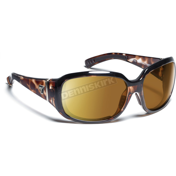 7EYE Leopard Tortoise ColorAmp Copper NXT Mistral Sunglasses  - 585321