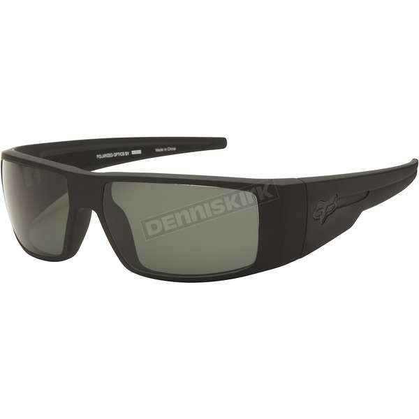 Fox Matte Black/Grey Polarized The Condition Sunglasses - 06324-901-OS