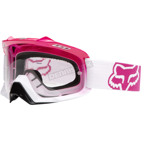 Fox Hot Pink/White Fade Air Space Goggles - 06333-902-OS