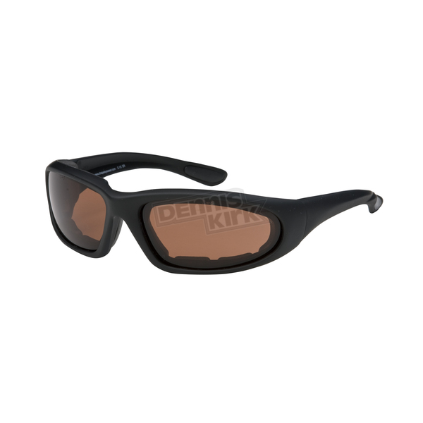Chapel Black Performance C-15 Sunglasses w/High-Def Lens - C-15BK/HD