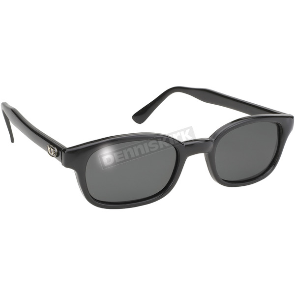 KDs The Original KDs Sunglasses Black w/Grey Polarized Lens - 2019