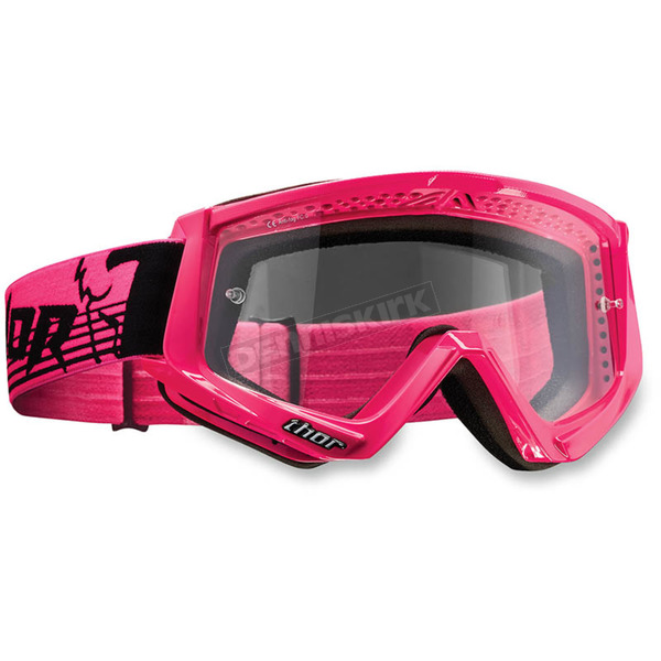 Thor Fluorescent Pink Conquer Goggles  - 2601-2091