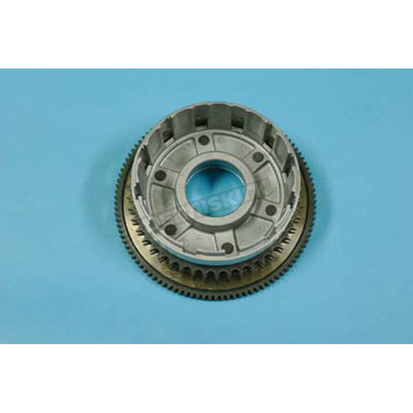 V-Twin Manufacturing Clutch Drum Assembly w/Ring Gear and Bearing - 18-0589